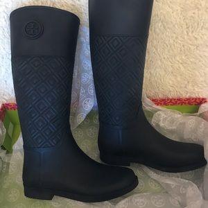 NWT/NBW Tory Burch rain boots
